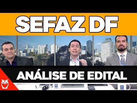 Concurso SEFAZ DF: Análise de Edital 2019