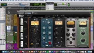 Slate Digital VMR / Everything Bundle Mixing Acoustic Guitar  ( Part 1)