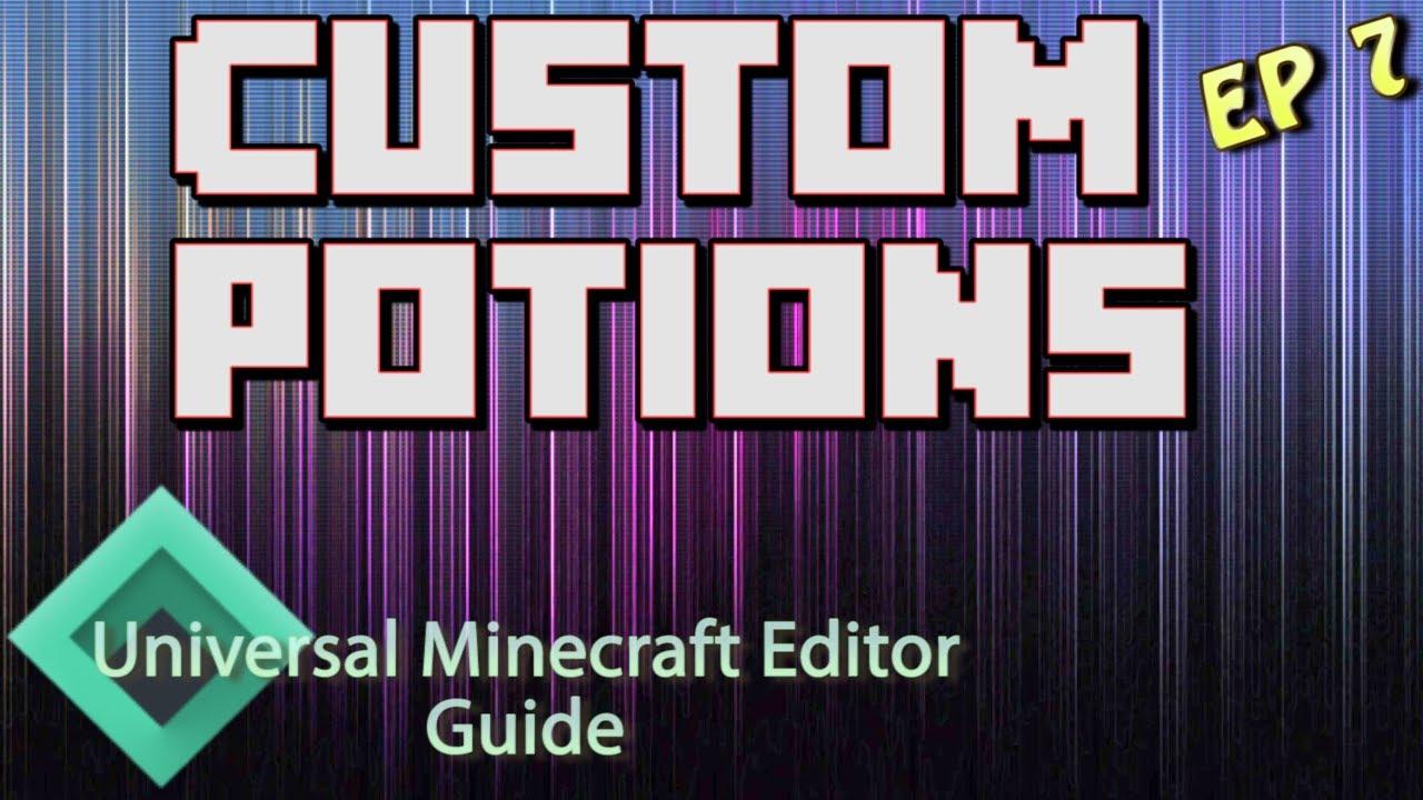 minecraft potion color codes