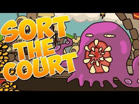 Sort The Court Gameplay German - Das Monster will FRESSEN!