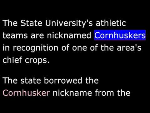 State Nicknames - Part 3 of 4-  WORDS AND THEIR STORIES