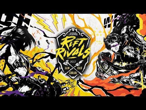 Rift Rivals 2017 - Rodada 1 - Dia 1