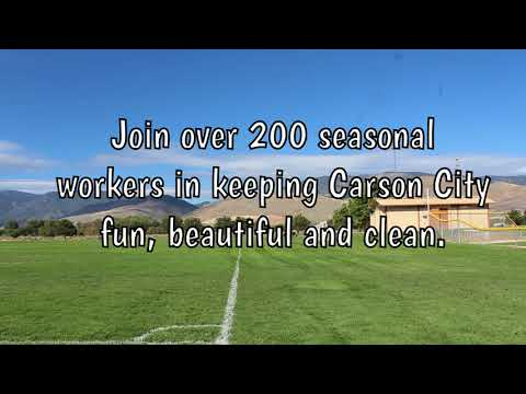 Parks and Recreation is hiring seasonal workers!