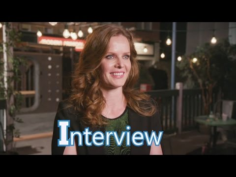 Once Upon a Time 6x20 Interview Rebecca Mader (Zelena/Wicked Witch)  Season 6 Episode 20