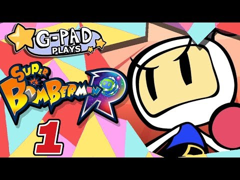 Super Bomberman R: Top Hats - PART 1 - G Pad