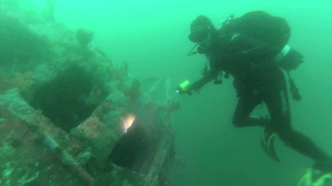 Wreck diving san diego