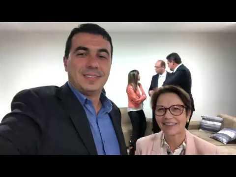 Presidente Bolsonaro anuncia Ministra da Agriculta, Pecuária, Deputada Tereza Cristina