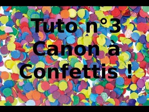 851d421eee7 Faire un canon à confettis - YouTube