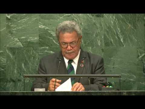 TUVALU - PRIME MINISTER ADDRESSES GENERAL DEBATE, 71ST SESSION