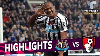 Newcastle vs. Bournemouth: 2-1 Goals & Highlights   Premier League   Telemundo Deportes