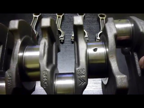Запчасти для сборки (ремонта) Шорт-блока Форд Транзит 2.4