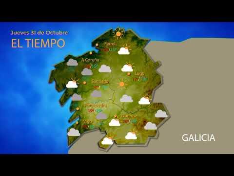 Previsión meteorológica Ourense 31 octubre 2019
