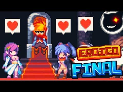 [2D Pixel platformer] - Eroico gameplay.FINAL - LEVEL 3 Completed!