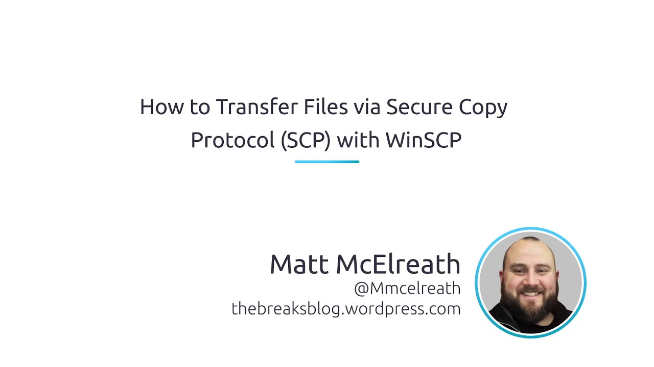 How To Transfer Files Via Secure Copy Protocol (SCP) With WinSCP