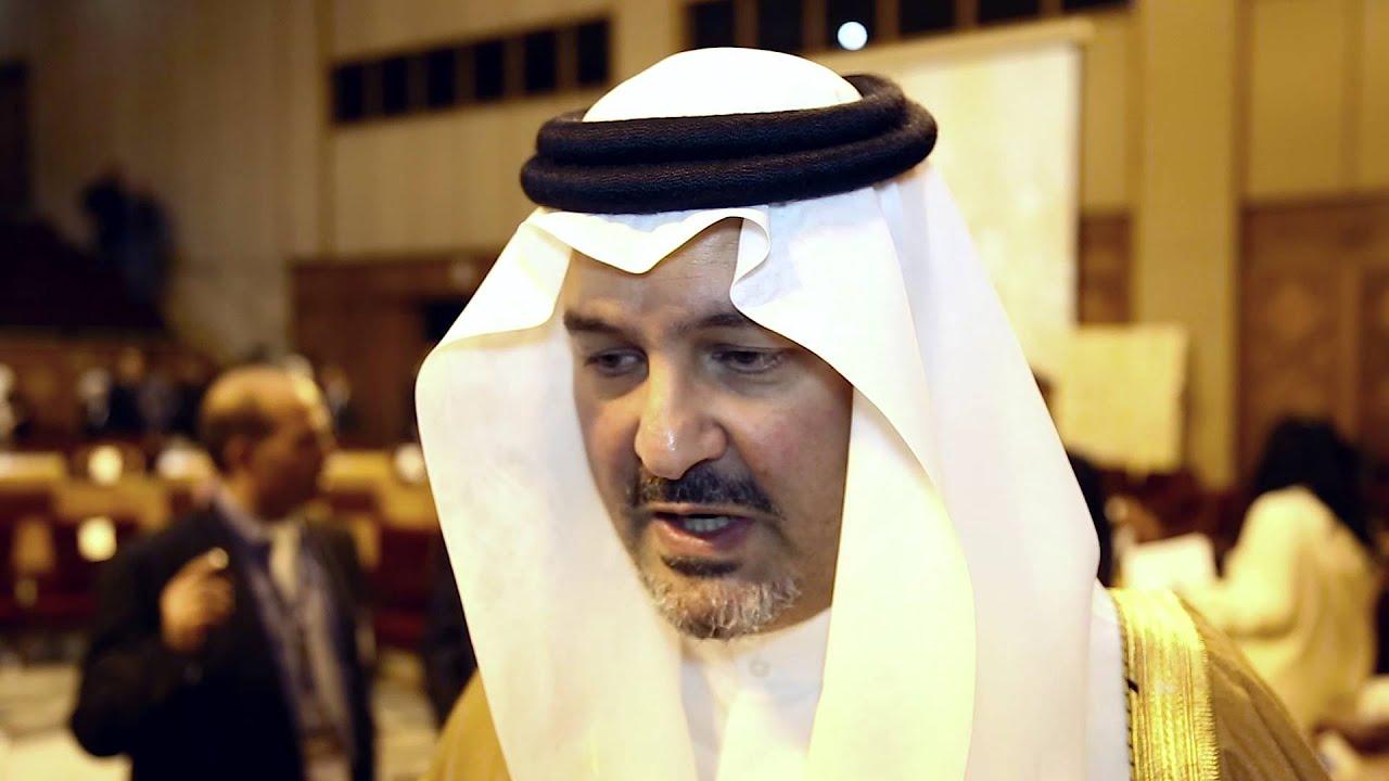 مقابلة مع الأمير بندر بن خالد الفيصل #فكر14 - YouTube