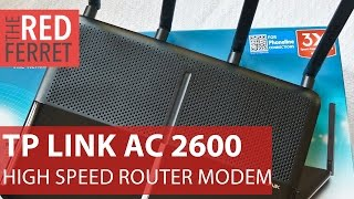 TP-LINK Archer VR2600 Modem Router - fast and fancy way to upgrade your home WiFi [Review]