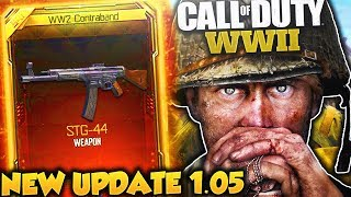 NEW UPDATE in COD WWII MULTIPLAYER! - COD WW2 PATCH NOTES, DOUBLE XP, BAR NERF & MORE!