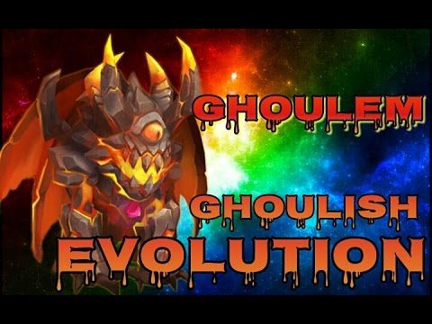 Castle Clash Ghoulish Evolution! Evolving Ghoulem!