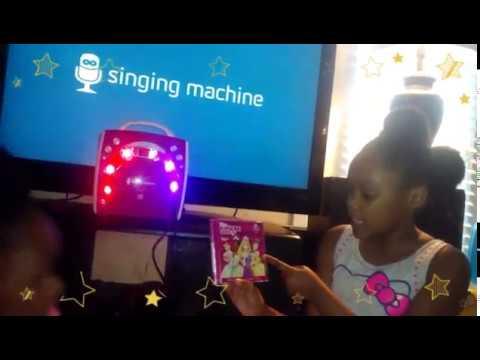 Kids Singing Machine Karaoke Girls Pink Edition -Disney Princess Music Box