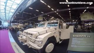 Renault Trucks Defense Vehicles Display