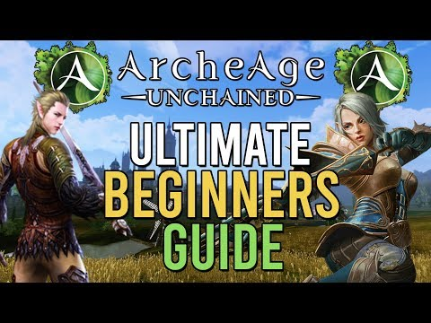 Archeage Unchained Beginners' Tips
