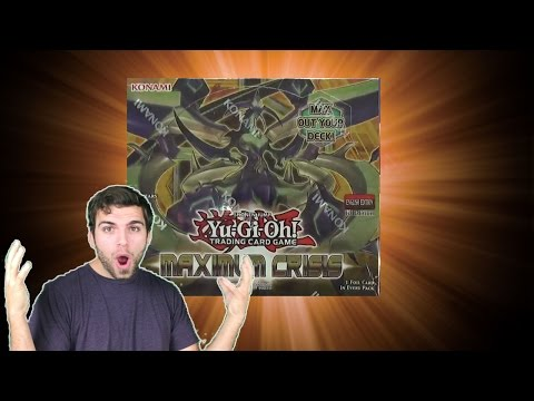 INSANE YuGiOh Maximum Crisis Booster Box Opening OH BABY!!