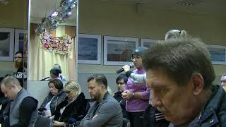 Встреча главы управы Гагаринского района Е.Е. Вишнякова с жителями 19.12.2018