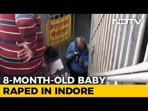 8-Month-Old Girl Raped, Killed In Indore Basement. Suspect Seen On CCTV