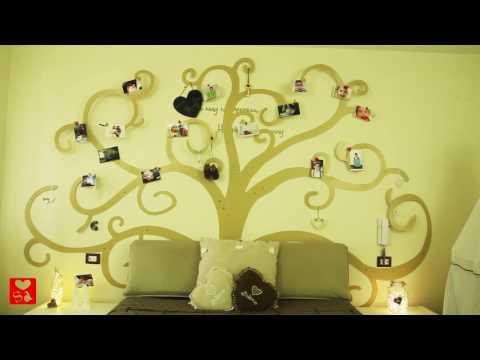 Disegno Stencil Albero Della Vita.Albero Della Vita Da Parete Tree Of Life Youtube