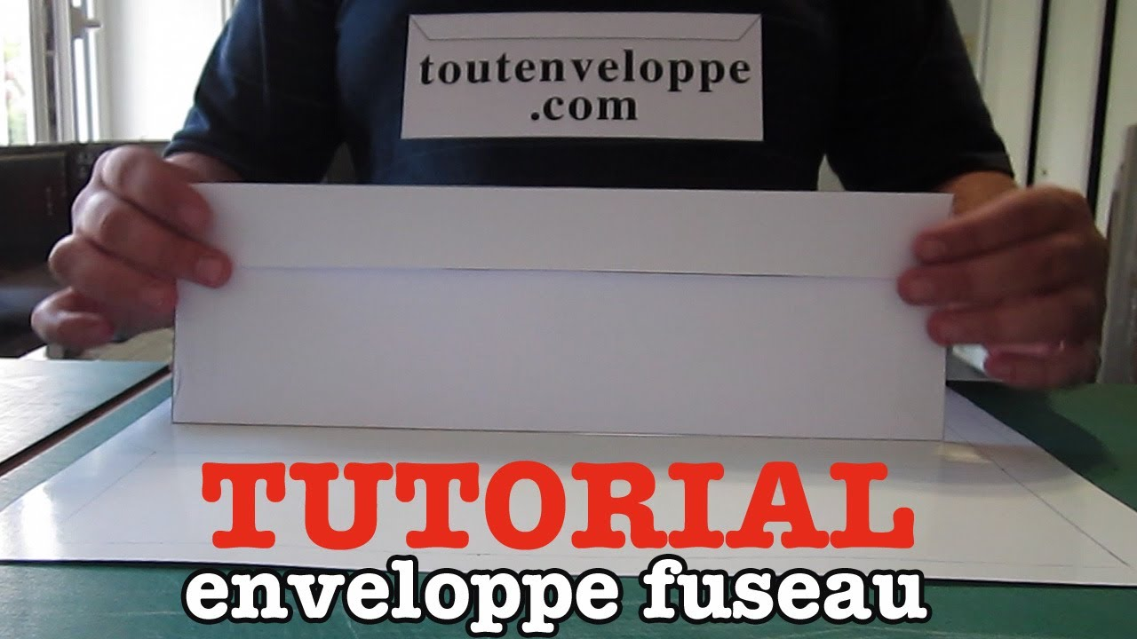 Comment faire une enveloppe papier grand format  YouTube