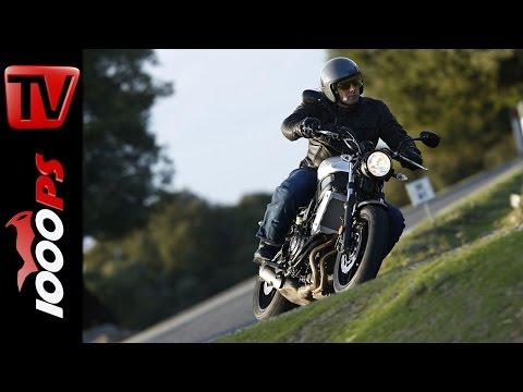 2016 Yamaha XSR 700 Test | Action, Fazit