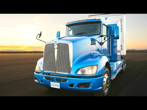 Toyota Fuel Cell Hydrogen Truck Zero Emission - Toyota Hydrogen Truck / Toyota Hydrogen Semi-Truck
