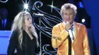 stevie nicks and rod stewart leather and lace live at hollywood bowl 4 16 11