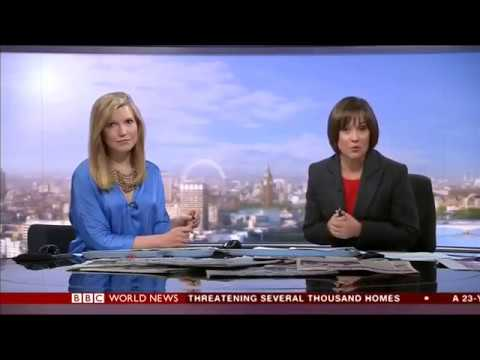 Alice Baxter, BBC World News Business and paper review with Cornelia Meyer
