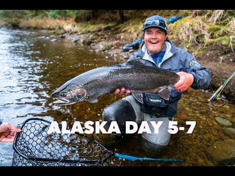 WE FINALLY FOUND THE STEELHEAD! Fly Fishing Alaska Days 5-7