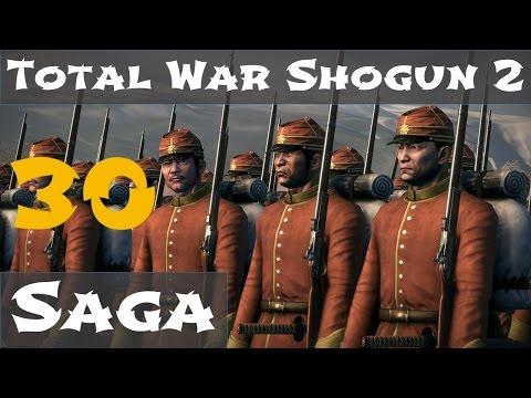 Total War Shogun 2 Fall fo the Samurai Saga Campaign 30 |