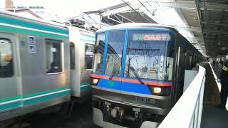 東急目黒線直通都営三田線直通都営車両01F編成&300形