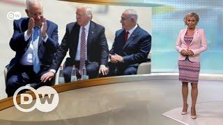 Первое дипломатическое турне Дональда Трампа   DW Новости (22 05 2017)