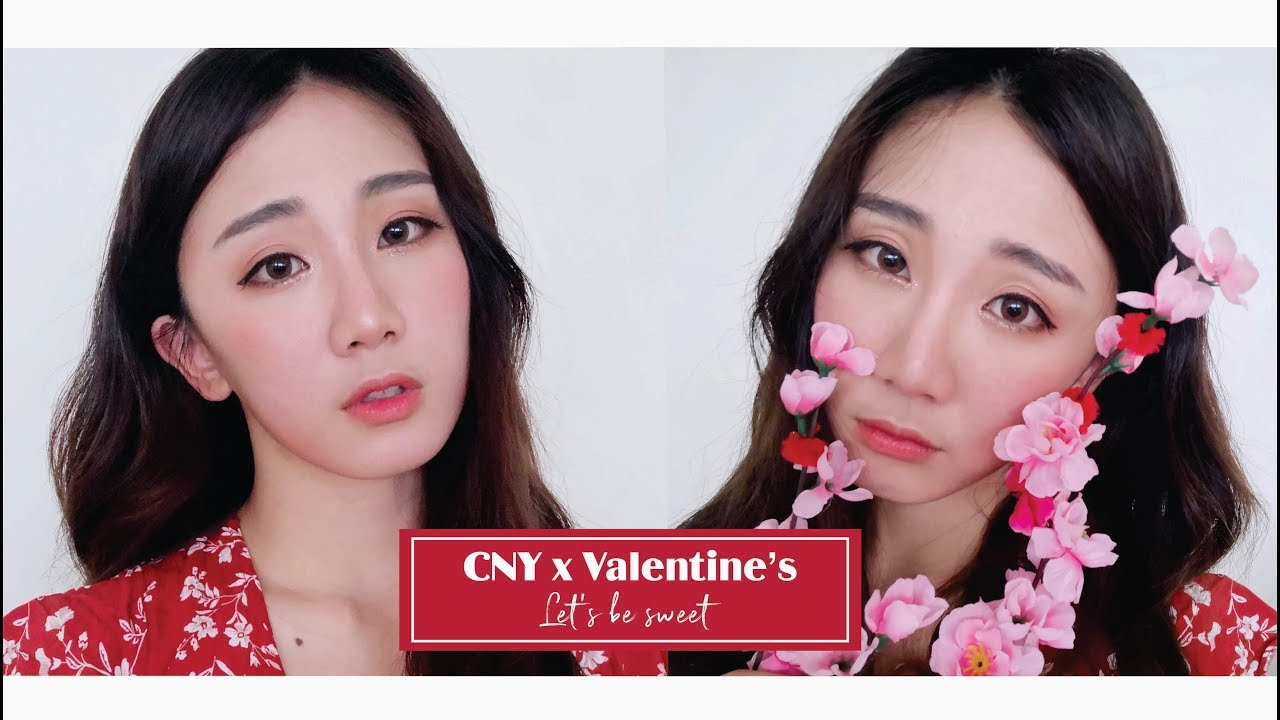 Click to watch leis makeup tutorial how to be sweet cny x click to watch in hd leis makeup tutorial how to be sweet cny x valentines apricot peachy makeup baditri Image collections