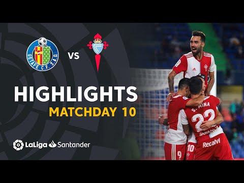 Getafe Celta Vigo Goals And Highlights