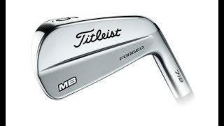 TITLEIST 718 MB IRONS reviewed for us by Mark Crossfield