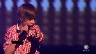 Justin bibier baby song .world famous and my favourite