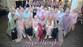 Meet & Greet Raisa Online Shop 2017