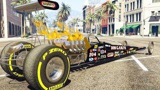 1000 KM/h mit dem schnellsten Auto in GTA 5? (Dragster Mod)