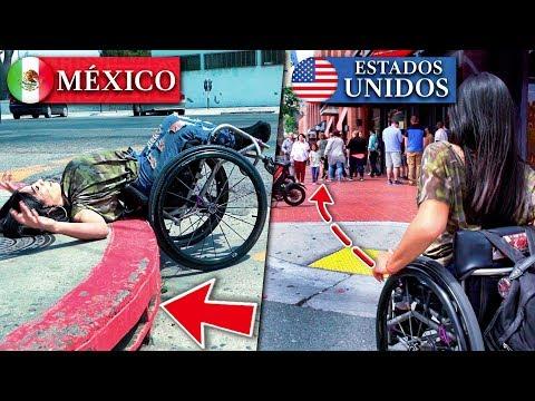 Cómo tratan a los discapacitados | México VS Estados Unidos