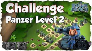 Boom Beach - CHALLENGE: Panzer Level 2 vs. Level 57 NPC Base (Deutsch / German) | xHeaven