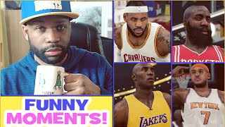 Goodbye NBA 2K15 - Funny Moments and Rage Quits! Funny Gameplay Montage | xChaseMoney