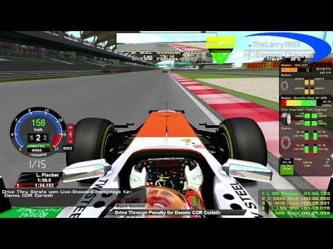 rF1-Simracing.eu - OnBoard Malaysian Grand Prix