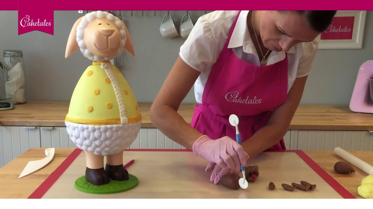 Kuchen Torten Mit Fondant Gestalten Tutorial Baby Teddy Youtube