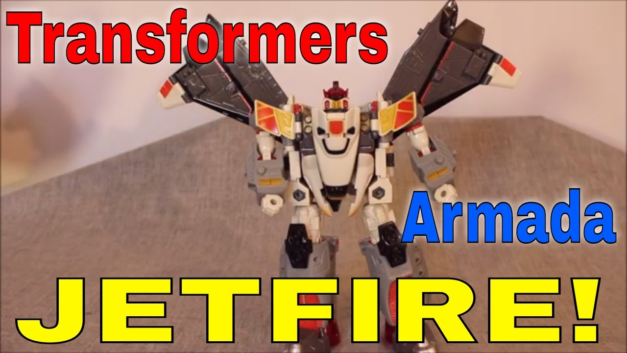 Transformers Armada Jetfire Review by GotBot